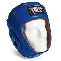 Шлем боксерский BEST для тренировок и соревнований, натуральная кожа, защита темени 1
