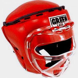 шлем ринг с маской для мма