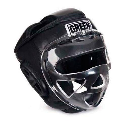 шлем с пластиковой маской