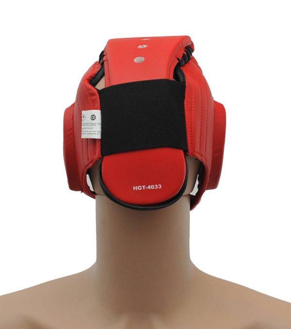 шлем таэквондо Грин Хилл красный