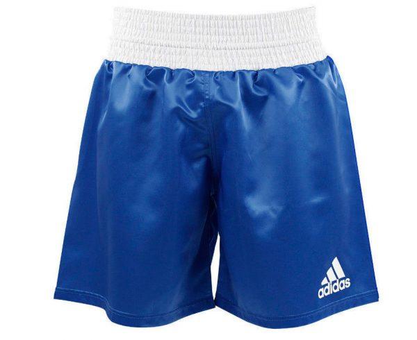 Шорты боксерские Adidas Multi Boxing Shorts для профессионального бокса, атласная ткань