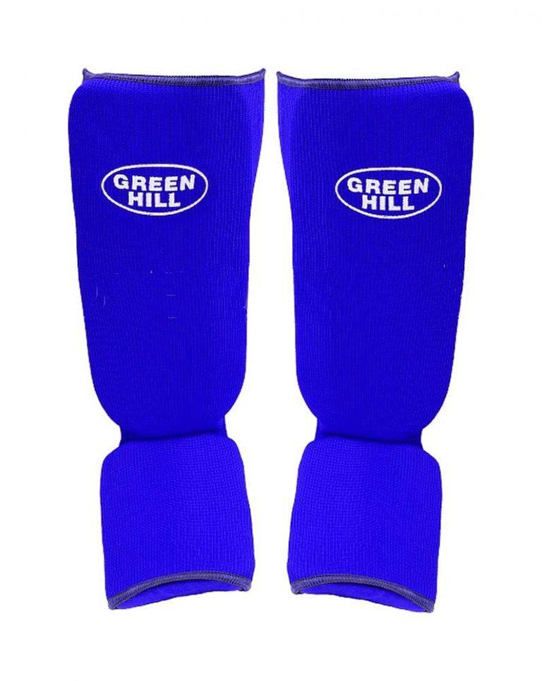 защита голени и стопы грин хилл синяя