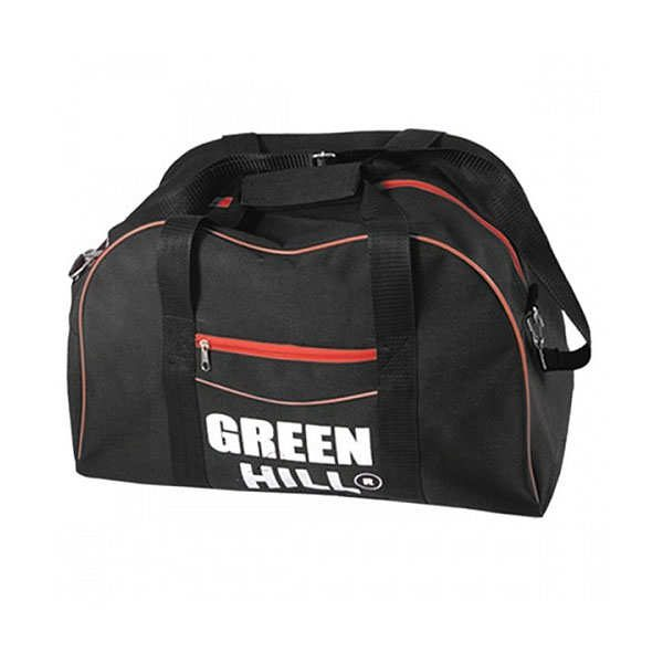 Спортивная сумка Green Hill мужская мультиспортивная, черный, синтетика 1