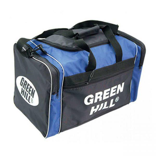 Спортивная сумка Green Hill мужская мультиспортивная, черно-синий, синтетика 1
