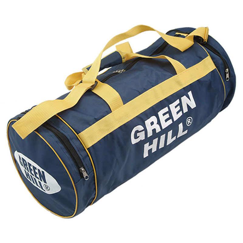 ff0ac5d6e93e Спортивная сумка круглая Green Hill мужская мультиспортивная синий  синтетика 1