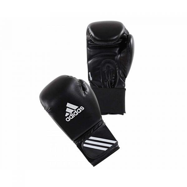 Тренировочные боксерские перчатки Adidas Speed 50 Boxing Gloves из искусственной кожи 1