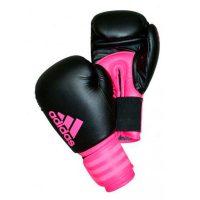 Тренировочные боксерские перчатки Adids HYBRID 100 DYNAMIC FIT из искусственной кожи