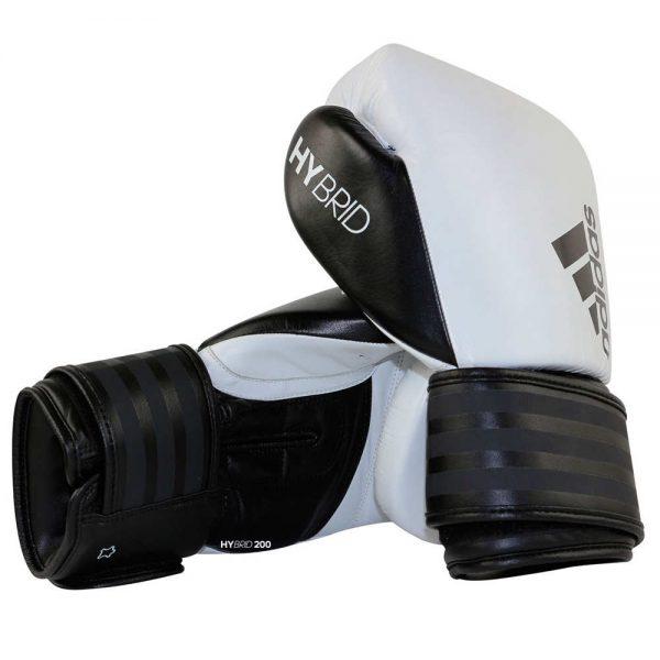 Тренировочные боксерские перчатки Adidas HYBRID 200 из натуральной кожи 1