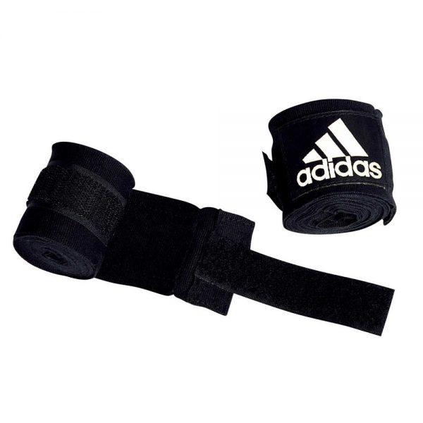 Боксерский эластичный бинт с застежкой липучкой хлопок Adidas 1