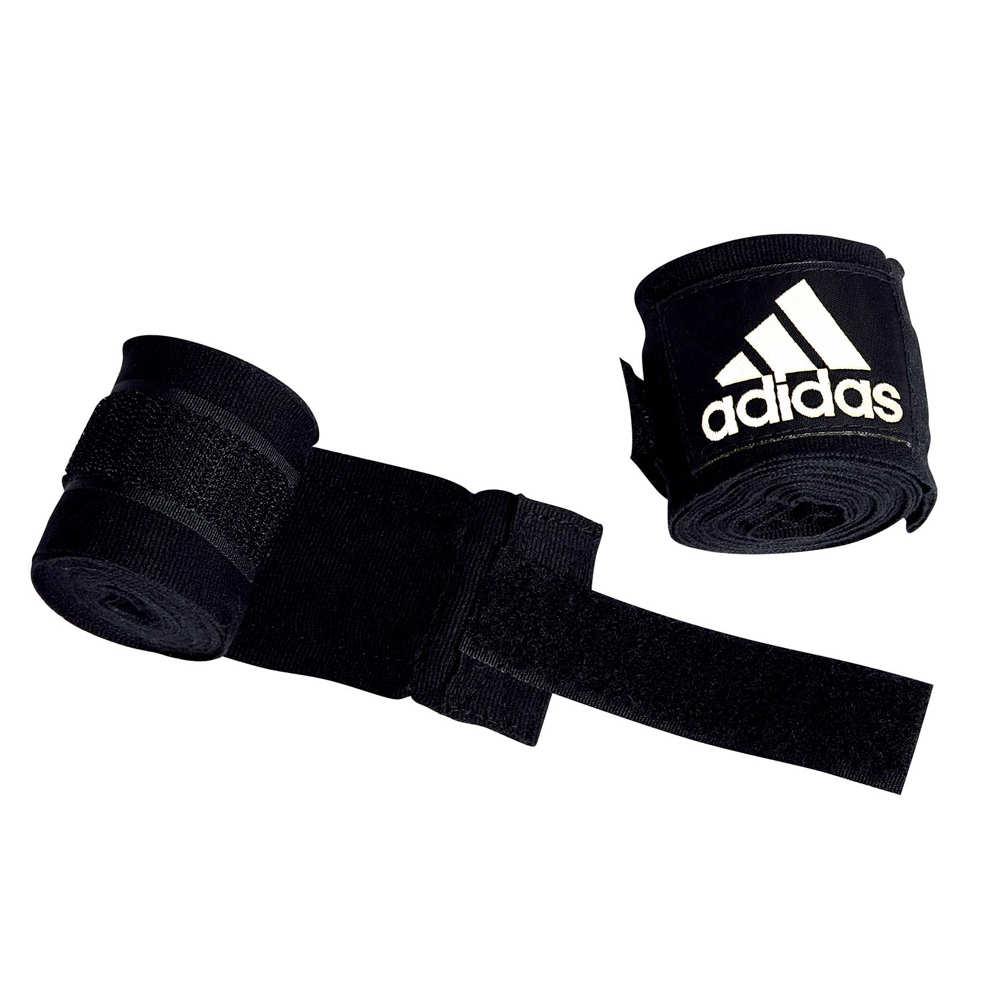 Боксерский эластичный бинт с застежкой липучкой хлопок Adidas