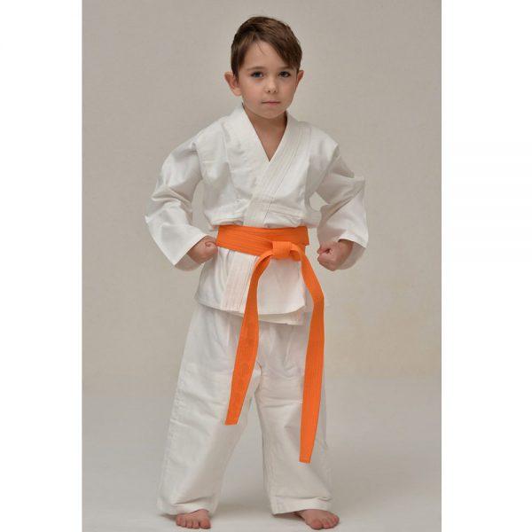 Спортивное кимоно для занятий айкидо взрослое, детское - все размеры 100% хлопок 280 г/м2 куртка, пояс, штаны 1