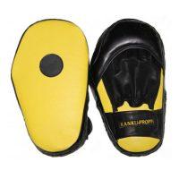 Удлиненные боксерские лапы кожа литой вкладыш дополнительная фиксация на запястье
