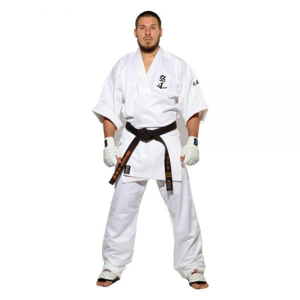 Кимоно для Кудо белое хлопок одобрено Федерацией кудо России 1
