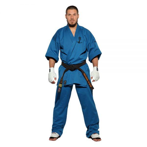 Кимоно для Кудо синее хлопок одобрено Федерацией кудо России 1