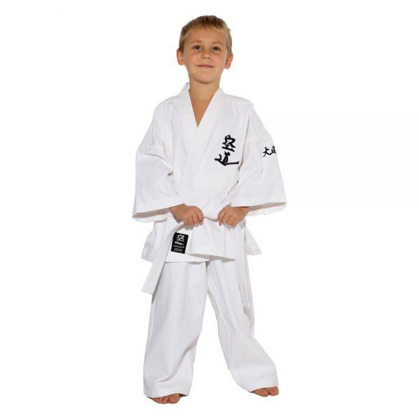Детское кимоно для Кудо белое хлопок одобрено Федерацией кудо России 1