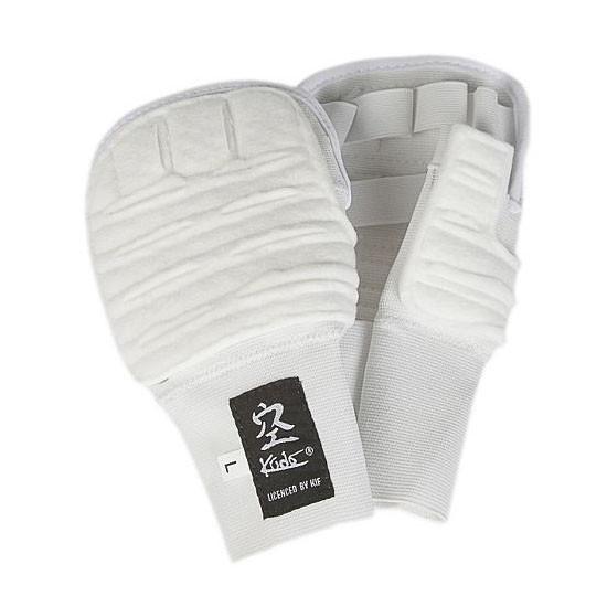 Накладки на руки для Кудо белые одобрено Федерацией кудо России 1