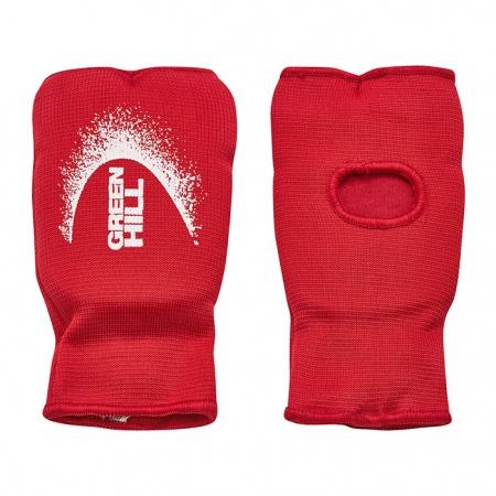 Накладки на руки для каратэ и единоборств Green Hill - красные/синие/белые/черные - эластик