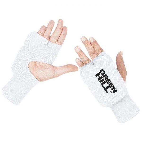 белые накладки на руки для каратэ