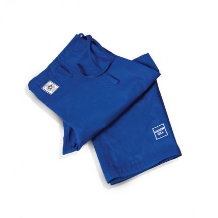 брюки для дзюдо синие 1