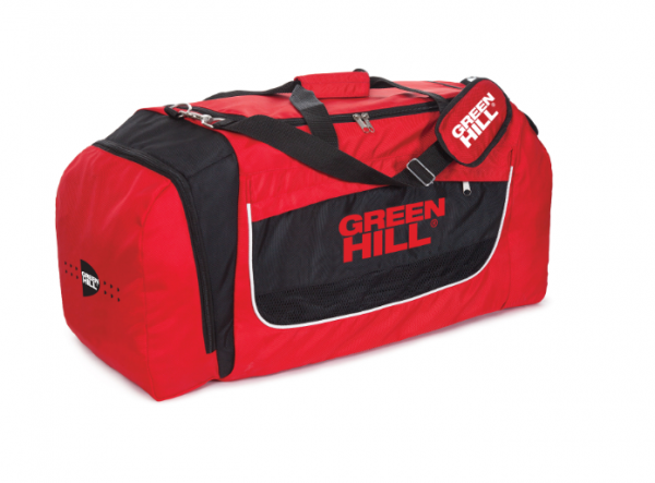 Спортивная сумка (красная с черным) sbj-10335 (55*35*42) Green Hill