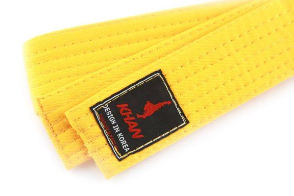 пояс кхан желтый