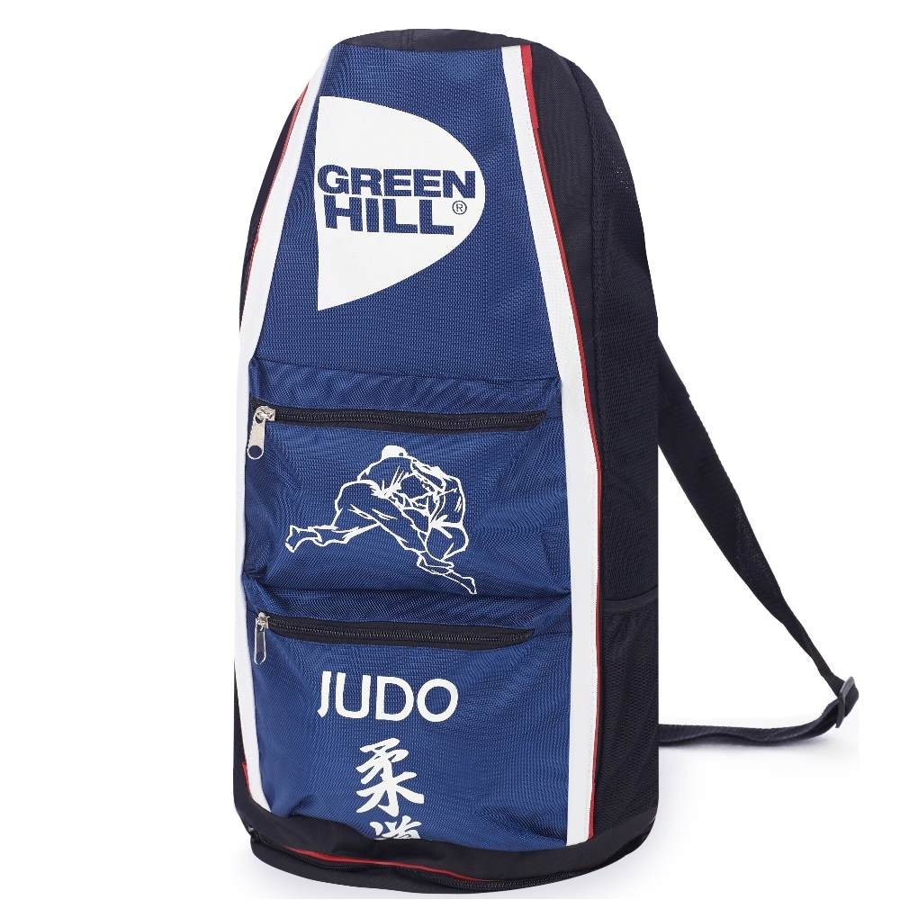 d304fae6f676 STS-58 Сумка-рюкзак тубус Дзюдо синяя/черная Green Hill - купить в Москве,  по России - Karate.ru