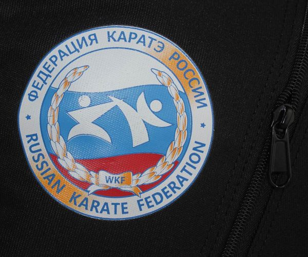 сумка с лого ФКР каратэ