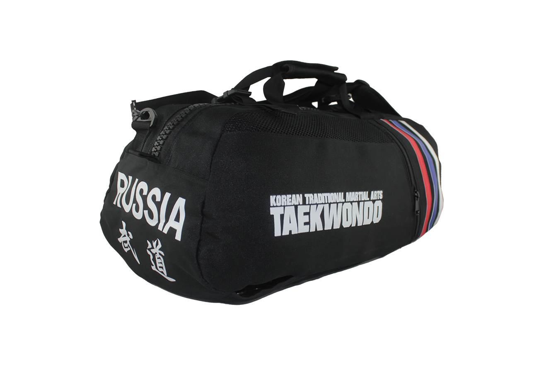 1991e4cd4a36 Сумка спортивная трансформер в рюкзак Тхэквондо KHAN - купить в ...