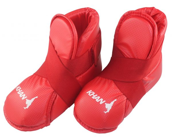 E12047 Защита стопы Foot ITF Kids детская синяя/красная KHAN