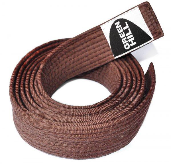 коричневый пояс каратэ