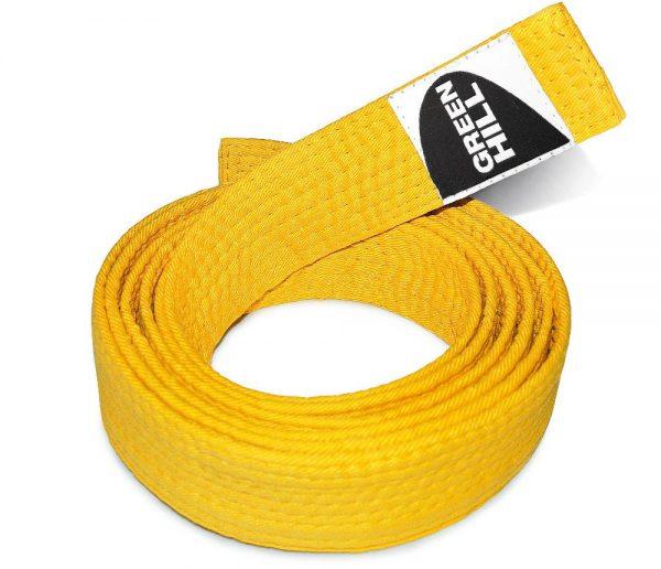желтый пояс каратэ