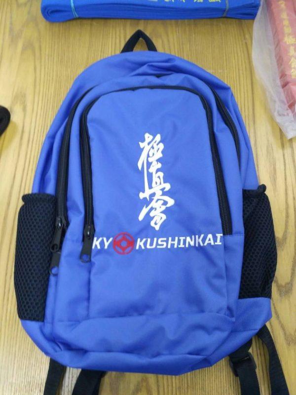 рюкзак киокушинкай синий