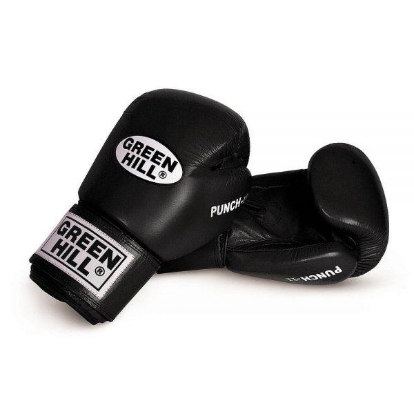 Перчатки боксерские Green Hill Punch II, натуральная кожа