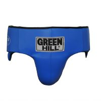 Протектор-бандаж для паха мужской Green Hill Pro Boxing, натуральная кожа