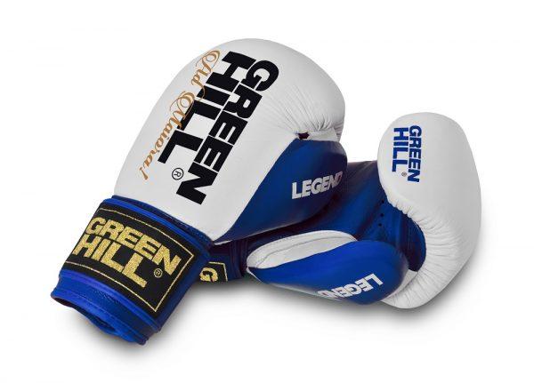 BGL-2246 Перчатки боксерские Green Hill Legend, натуральная кожа