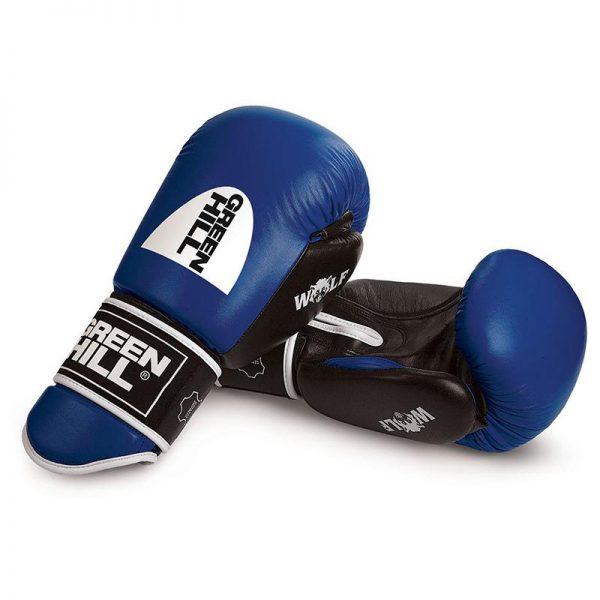 Перчатки боксерские Green Hill Wolf, anti-shock system