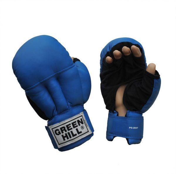 перчатки для рукопашного боя синие