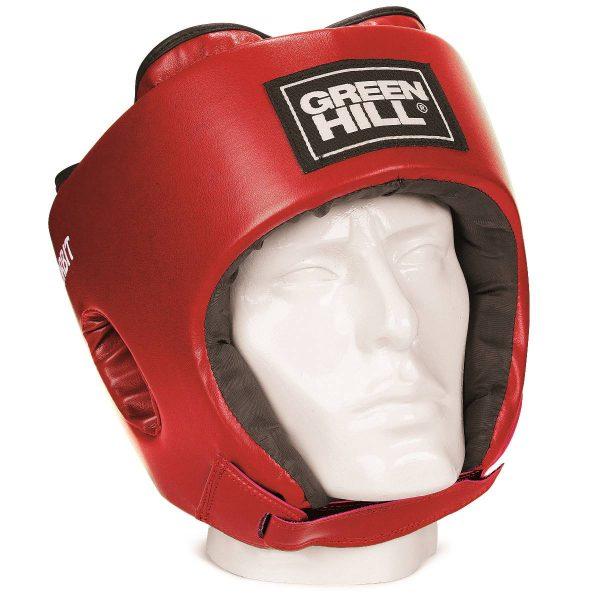 шлем боксерский детский ORBIT Green Hill красный
