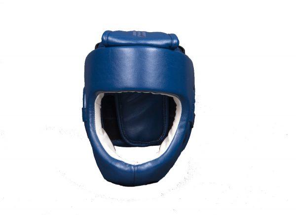 шлем-для-каратэ-синий