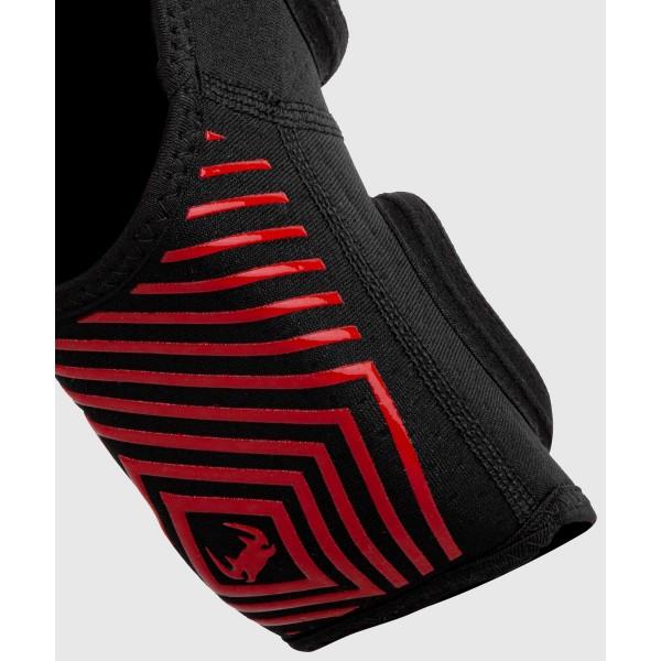 Щитки Venum Kontact Evo Black/Red