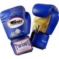 Перчатки боксерские Twins FBGV-6G-Blue