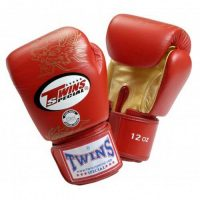 Перчатки боксерские Twins FBGV-6G-Red