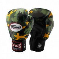 Перчатки боксерские Twins FBGV-Army-Y