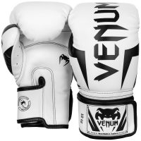 Боксерские перчатки Venum Elite White/Black
