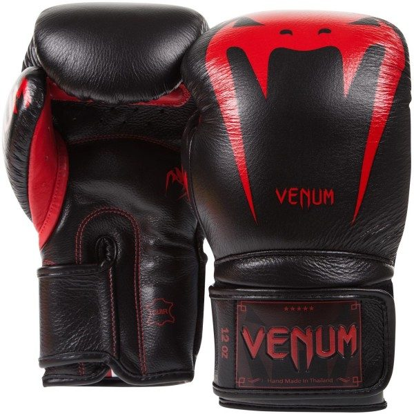 Перчатки Venum Giant 3.0 Red Devil Nappa Leather