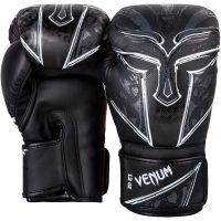 Перчатки боксерские Venum Gladiator Black/White