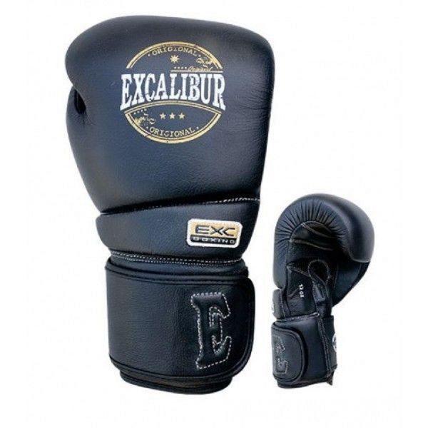 Перчатки боксерские Excalibur 8000-01 Black PU