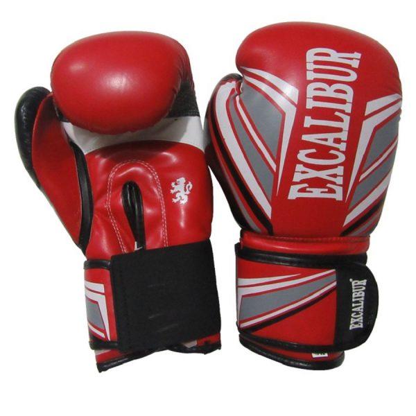 Перчатки боксерские Excalibur 8023-04 Red PU