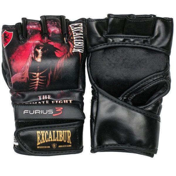 Перчатки ММА Excalibur 680/02 PU