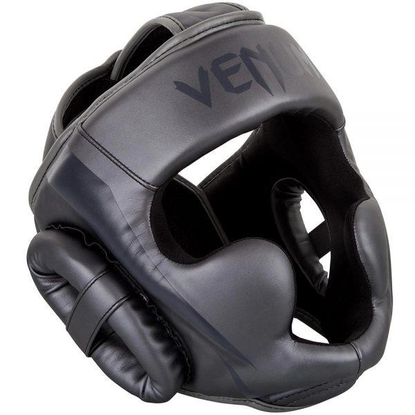 Шлем боксерский Venum Elite Grey/Grey